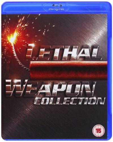 Lethal Weapon (1987), Lethal Weapon 2 (1989), Lethal Weapon 3 (1992), Lethal Weapon 4 (1998) [Blu-ray]
