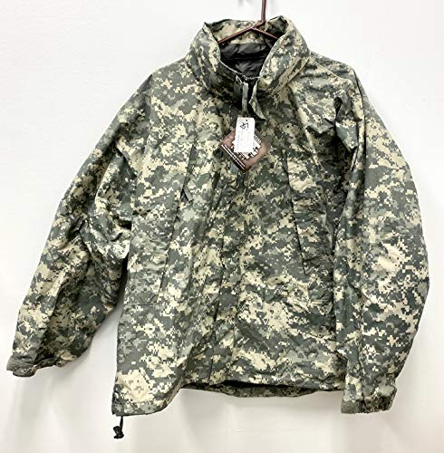 Us Army Issue Ecwcs Gen III Level 6 Gore Tex Acu Digital Extreme Cold/Wet Weather Jacket - Large Regular.