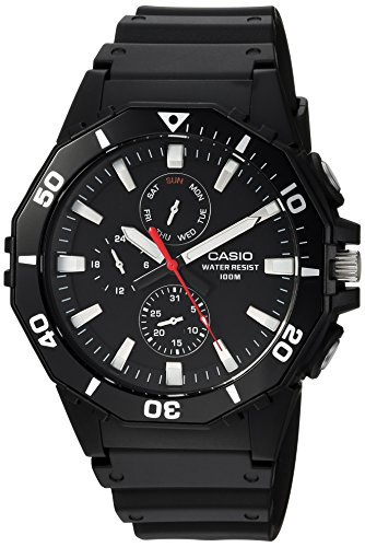 Casio watches Casio Men's Sports Analog-Quartz Watch with Resin Strap, Black, 21 (Model: