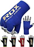 RDX Boxbandagen Elastisch Boxen Innenhandschuhe MMA Handschuhe Daumenschlaufe (MEHRWEG) -