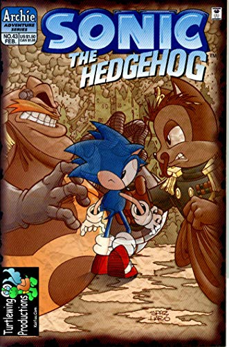 The HedgeHog: Vol 4 Great Sonic Cartoon Adventure Comic Graphic Novels For Young & Teens , Adults Reader