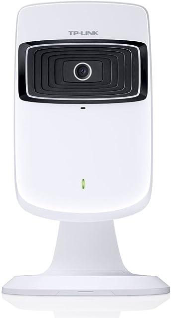 TP-LINK NC200 - Cámara de vigilancia/IP (visión diurna 300 Mbps VGA (640x480) accesible desde iOS y Android extensor WiFi)