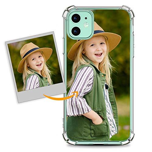 Oihxse Funda Personalizada de Telefono Compatible con Samsung Galaxy S7 Edge Carcasa Silicona TPU Bumper Suave Imagen o Texto Personalizable Estiloso y Unico Anti-Rasguños Case Cover(B1)