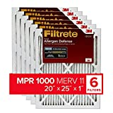 Filtrete Micro Allergen Defense HVAC Air Filter, Delivers Cleaner Air...