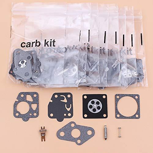 Tiempo Beixi 10set / Lot Kit de reparación carburador de