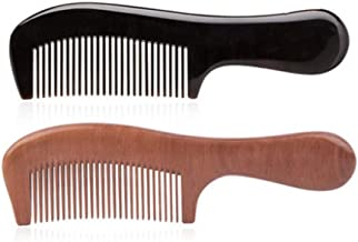 YUHALQ Comb, A Comb Made By Hand-polished With Horn Material Of Cattle, Is A Very Healthy Material And Can Be Presented As A Gift (available In Nine Combinations) Variety, beautiful looking comb
