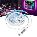 Tiras de Luces LED de 4 m, luz Musical RGB alimentada por USB para KTV para Pared de Fondo para Dormitorio para Sala de Estar