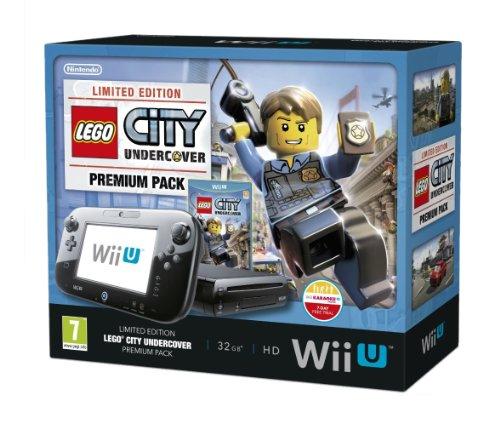 Nintendo Wii U 32Gb Lego City: Undercover Premium Pack - Schwarz (Nintendo Wii U) [britische Import]