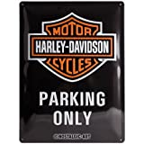 Nostalgic-Art Harley-Davidson – Parking Only –