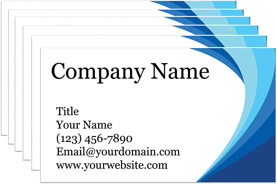 Custom discount Store Business Cards with Your Logo P Personalized Double-sided