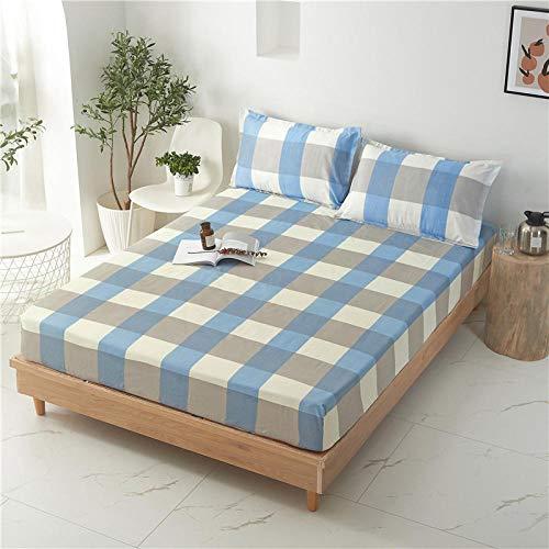 HPPSLT Sábana Ajustable súper Suave, cálida y acogedora La sábana es a Prueba de Polvo y espesa-19_150 * 200 + 25cm