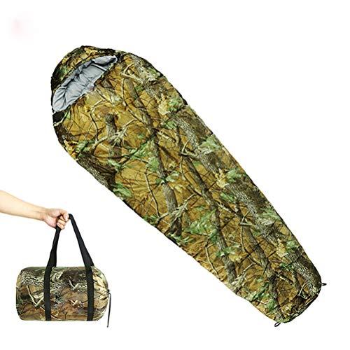 Nealpar Saco de Dormir Momia extensión tamaño r80 x 190CM Exterior Ultraligero para Acampar Senderismo Escalada