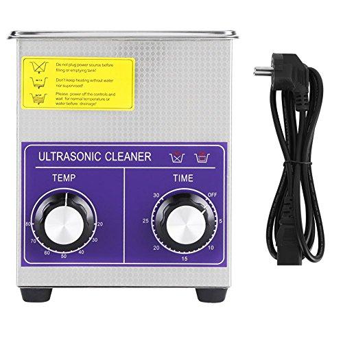 Zoternen Digitaler Ultraschallreiniger aus Edelstahl, mit heißem Reinigungsbehälter und Korb, Reinigungsgerät für Ventil 2L