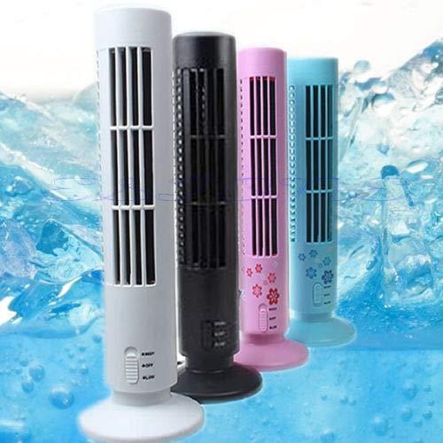 SPRINGHUA. Condizionatore di Aria condizionata della Torre Fredda del Raffreddamento del rinfrescante del rinfrescante Portatile USB (Color : White)