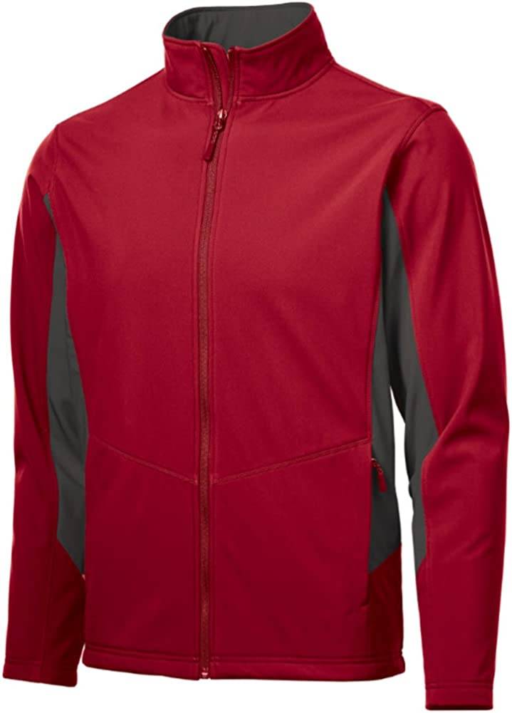 Joe's USA Mens Price reduction Factory outlet Tall Colorblock Soft Shell Jackets LT-4X in Sizes
