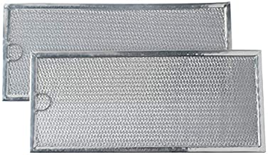 Podoy WB06X10596 Microwave Grease Filter Compatible with GE General Electric Hotpoint Replaces 1085087, AP3792368, AF4318 (Pack of 2)