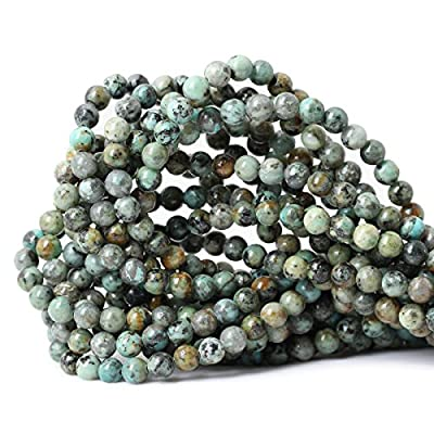Qiwan Tiger Eye A Grade Gemstone Loose Beads Natural Round Crystal Energy Stone Healing Power for Jewelry Making
