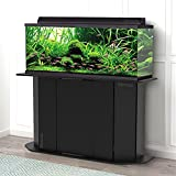 SKROOTZ Stands for 55 Gallon Aquariums Black Finish Great for Fish Made from Durable Wood