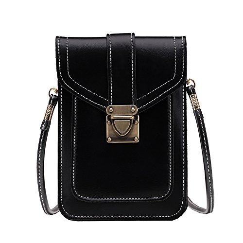 Kasebay , Damen Umhängetasche schwarz schwarz