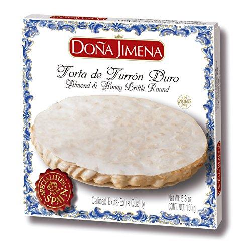 ⭐ Torta de Turrón Duro Doña Jimena | Textura Crujiente | Sin Gluten