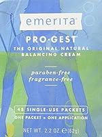 Pro-Gest Cream (Paraben Free) by Emerita (Pro-Gest) - 48 Packets 2.2 oz [並行輸入品]