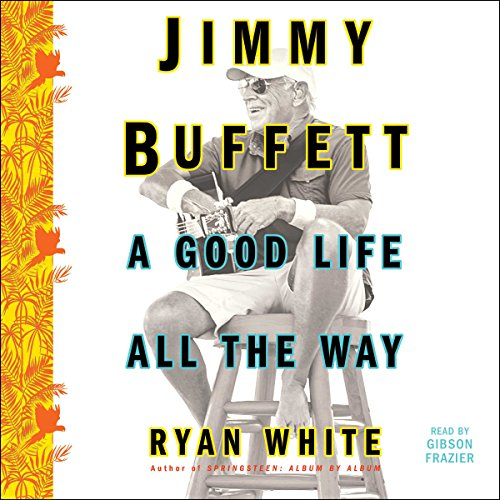 Jimmy Buffett audiobook cover art