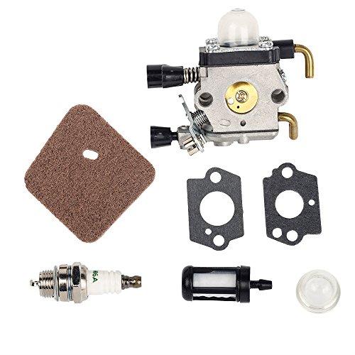 Carburateur filtre ruche avec joints pour coupe-bordures Stihl FS38 FS45 FS46 FS55 FS74 FS75 FS76 FS80 KM85