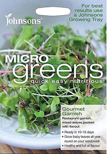 Portal Cool Johnsons - Salade - MicroGreen mesclun Gourmet Garnissez - 2000 Graines