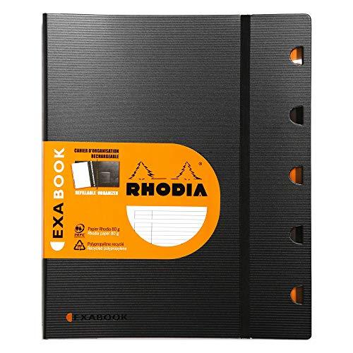 Exabook Rhodia Cahier Organisation Ri A4+ 160p Ligne+Mc