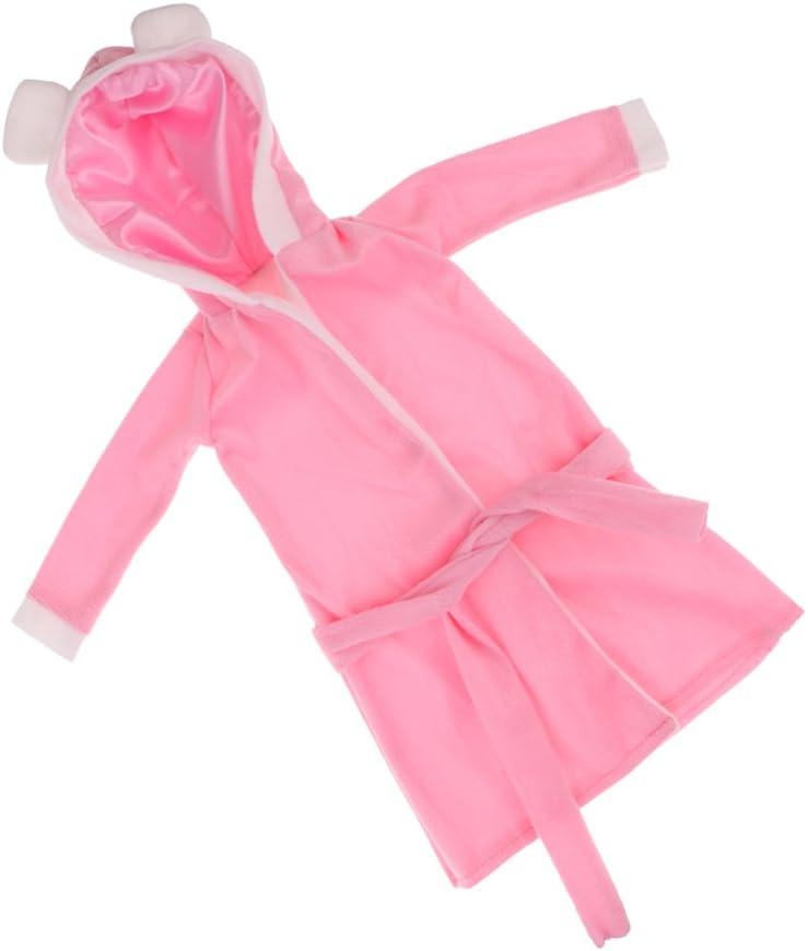N\C Sweet Max 57% OFF Pink Sleepwear Nightdress Robe Fairy N 60cm Outfit for mart