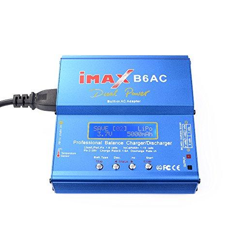 XCSOURCE LiPo LCD Originale iMAX B6AC Digitale NiMh NiCd Life Li-Ion Battery Balance Scaricatore Caricatore Power Adapter RC308