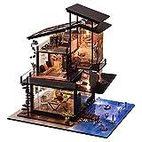 DIY Cottage 3D Puppenhaus Holz Miniaturhaus Kit Miniatur Holzhaus Handgefertigt Spielzeug Für...