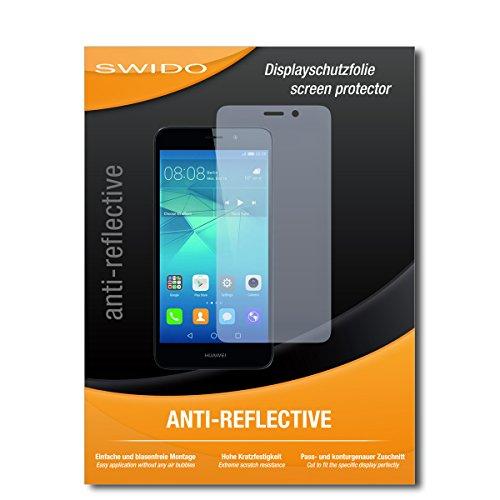 SWIDO Schutzfolie für Huawei GT3 [2 Stück] Anti-Reflex MATT Entspiegelnd, Hoher Festigkeitgrad, Schutz vor Kratzer/Bildschirmschutz, Bildschirmschutzfolie, Panzerglas-Folie
