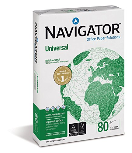 Igepa 82470A80S Kopierpapier Navigator Universal Din A4 Brief und Geschäftspapier