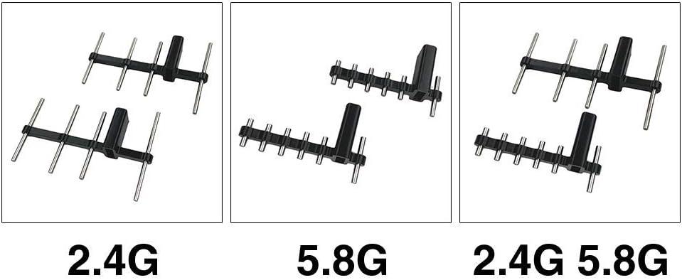 POHOVE Yagi-UDA Mando a Distancia Antena Señal Aumentador Amplificador Antena Gama Expansor para Señal Aumentador Transmisor para Mavic Min/Pro/dji ...