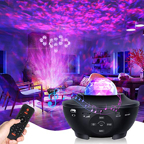 Fimilo Galaxy Projector Star Projector Galaxy Globe Projector Night Light for Bedroom Decor with Remote Control Bluetooth Music Speaker for Kids Adult Galaxy 360 Pro Baby Night Light Projector