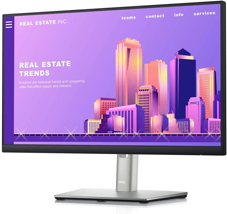 Dell 22 Monitor - P2222H - Full HD 1080p, IPS Technology