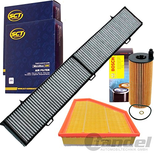 Filterset Inspektionspaket 1 Filter, Innenraumluft 1 Luftfilter 1 Oelfilter