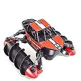 YAMMY 2.4G Wasserdichtes Hochgeschwindigkeits-RC-Car All-Terrain Amphibischer Stunt Sand Lake Pool...