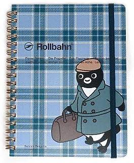 デルフォニックス ロルバーン ポケット付メモL Suicaのペンギン (旅人 ブルー)