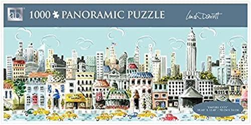 Andrews + Blaine Empire City Panoramic Puzzle, 1000-Piece by Andrews + Blaine