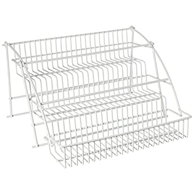 Rubbermaid Pull Down Spice Rack, White (FG8020RDWHT)