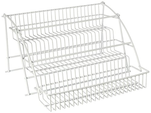 Rubbermaid Pull Down Spice Rack, White
