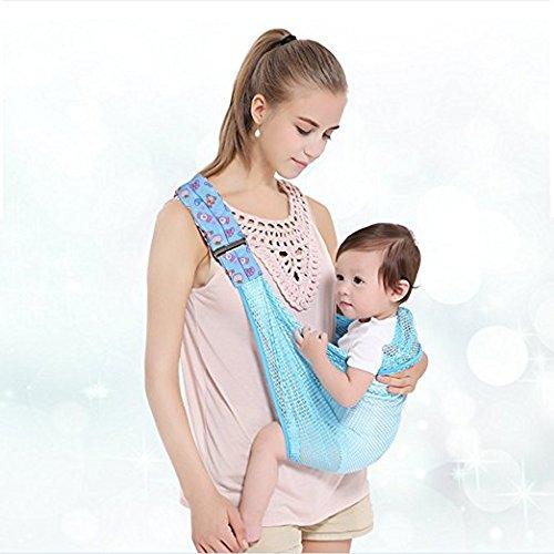 Fular portabebés de Cuby, desde recién nacidos hasta 32 meses Blue ...