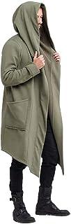 Trench Da Uomo Antivento Cardigan Lungo Cardigan Aderente Con Taglie Comode Cappuccio Cappotto Da Uomo Autunno Inverno Per...