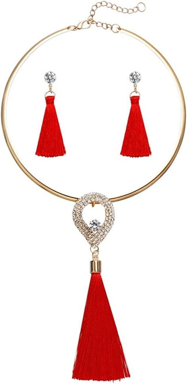 Max 62% online shop OFF LCKJ Fashion Women Tassel Jewelry Boho Pearl Chocker Cr Necklace