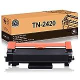 FITU WORK TN2420 TN2410 (con Chip) Cartuccia Toner Compatibile per Brother MFC-L2710DW MFC-L2710DN MFC-L2730DW MFC-L2750DW DCP-L2510D DCP-L2550DN HL-L2310D HL-L2350DW HL-L2370DN HL-L2375DW