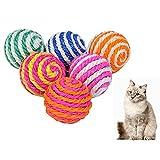 Balle en sisal pour chats