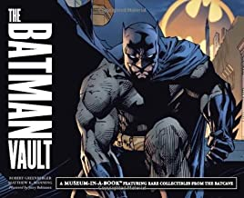 The Batman Vault: A Museum-in-a-Book Featuring Rare Collectibles from the Batcave