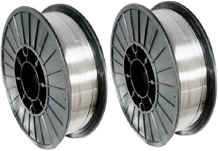 MILD STEEL MIG WELDING WIRE REEL ROLL NO GAS GASLESS FLUX CORE 0.6//0.8mm 1//5 KG